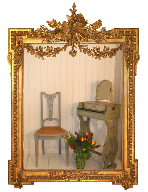 An example of the quality of mirrors on offer by The Old French Mirror Company