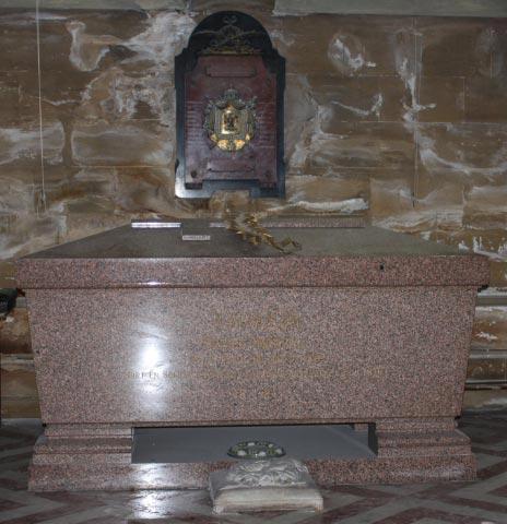 Prince Louis's sarcophagi.